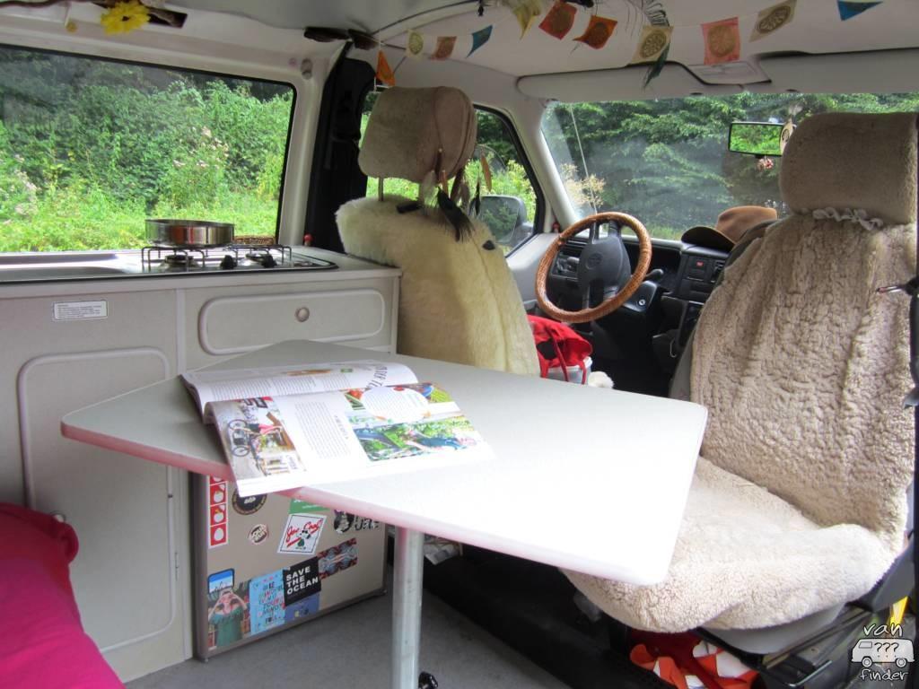 Sitzecke im VW T4