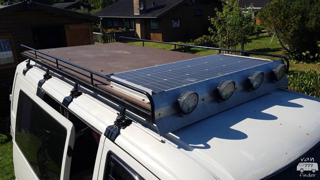 Dachterasse mit Solar auf VW T4