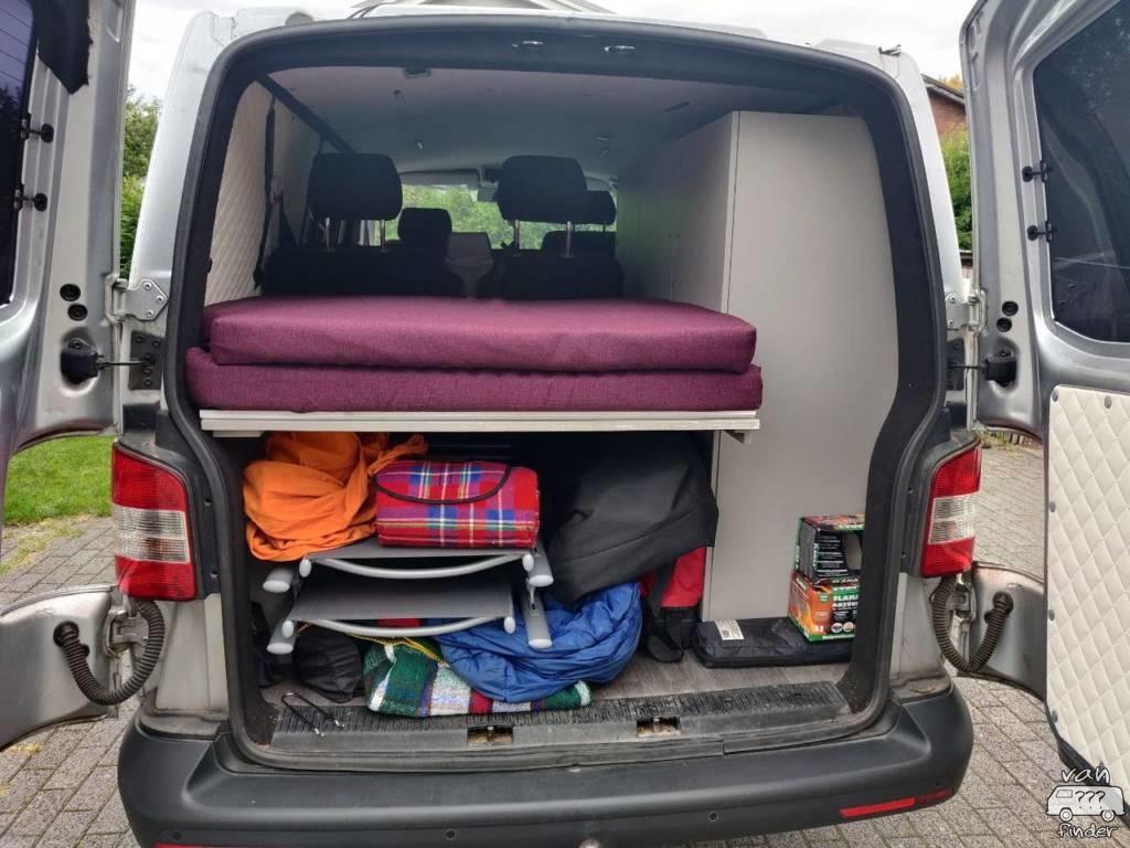Bett in Michaels VW T6